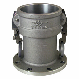 PT 3 in. Sta-Lok II Aluminum Locking Female Coupler x TTMA Flange
