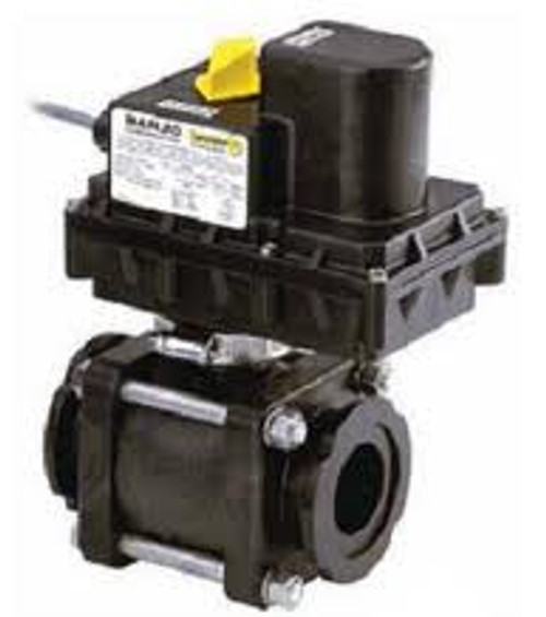 3 in. ON/OFF Electric Manifold Valve 3/4 to 1 1/4 Second Response - 3 in. Full Port - 3 in. - 3 in.