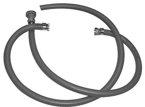 1in. Oil Resistant Suction & Discharge Hose Kits - 10 ft. Discharge Hose