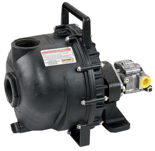 3 in. Hydraulic Driven Polypropylene Pump - 3 in. Hydraulic Driven Polypropylene Pump - 12