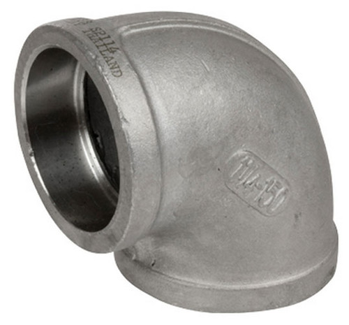 Smith cooper cast stainless steel in ° elbow