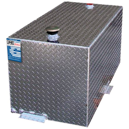 110 Gallon DOT Aluminum Rectangular Refueling Transfer Tank