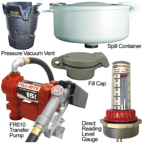 Farmers Gas Tank : Regular flow farm tank gas pump vent kits for non ul