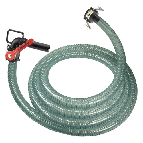 1 1/2 in. PVC DEF Hose Assembly w/ 1 1/2 in. Part C Coupler X Nozzle