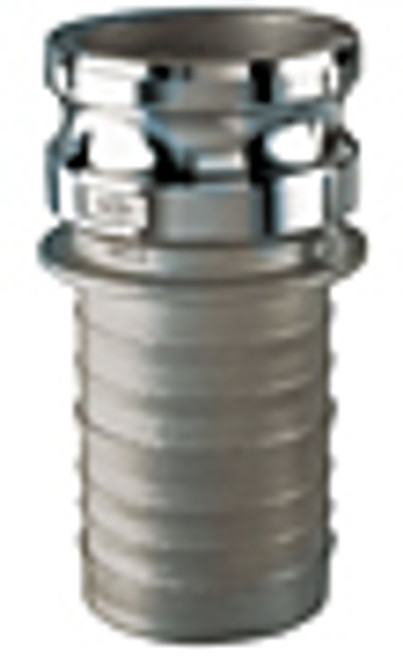 2 in. Stainless Steel Part E Male Adapter x Hose Shank