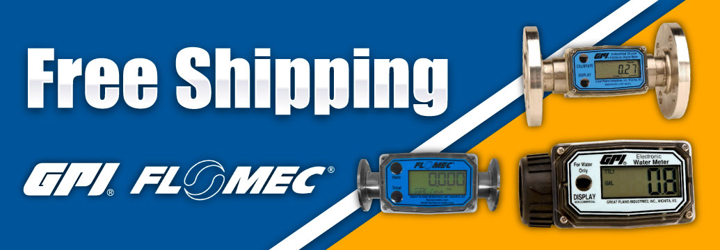 Free Shipping on Select GPI Meters