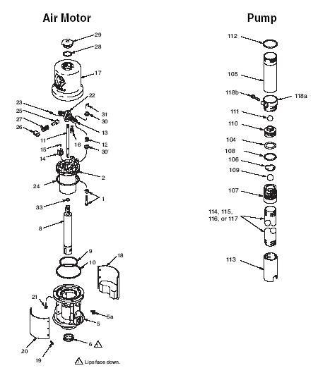 Graco Fire-ball 300 5 1 Pump Parts