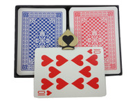 COPAG Pinochle Double Deck - Red & Blue Regular Index