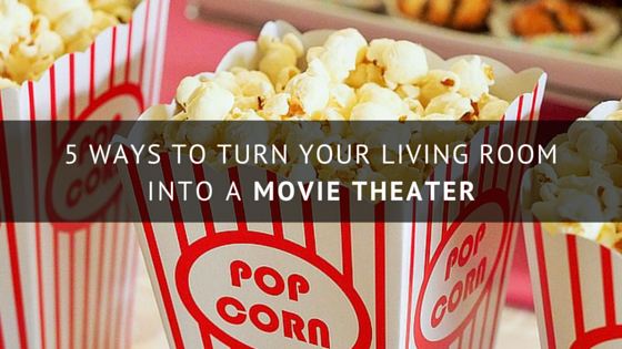 Wouldnt You Love To Come Home After A Long Day Curl Up With Bowl Of Buttery Popcorn And Catch Flick In Your Own Personal Movie Theater