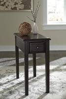 Selma Side Table Dark Brown