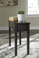 Selma Side Table Grayish Brown