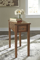 Selma Side Table Warm Brown