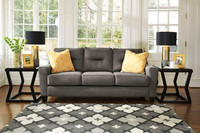 Hugo Fabric Sofa Grey