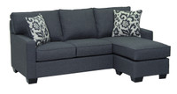 Rex Reversible Sectional Double Sofa Bed Jitterbug Grey