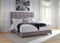 Glenn King Bed Grey