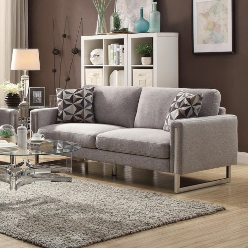 Astoria Fabric Sofa Grey