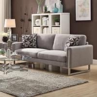 Astoria Fabric Sofa Grey