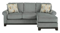 Benny Marine Blue Reversible Sectional