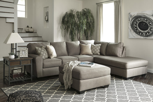 Grover Right Facing Sectional Grey