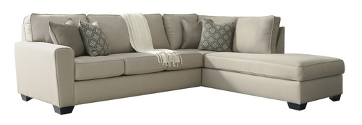 Grover Fabric Right Facing Sectional Beige