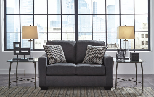 Avery Loveseat Grey