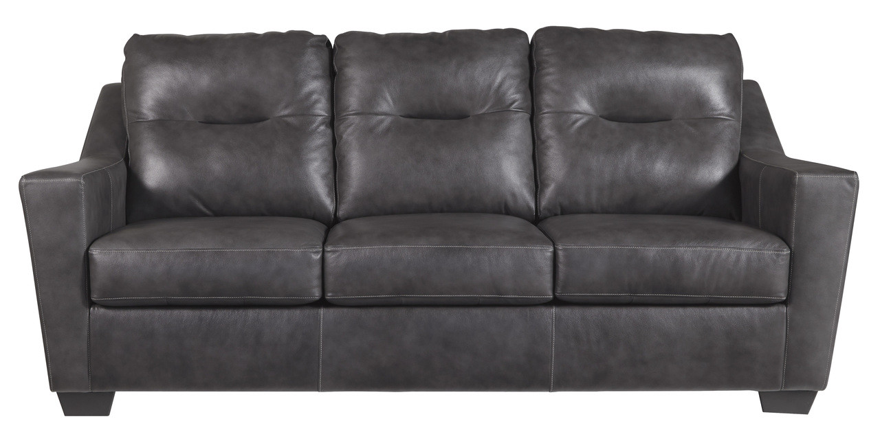 leather sofa bed. Perfect Bed Dupree Genuine Leather Sofa Bed Grey Inside L