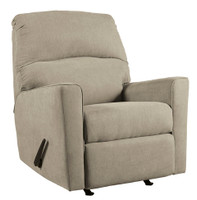 Perez Fabric Recliner Beige