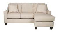 Ivy Reversible Sectional Queen Sofa Bed Sand