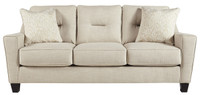 Hugo Queen Sofa Bed Sand
