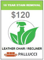10 YEAR STAIN REMOVAL -  LEATHER CHAIR / RECLINER