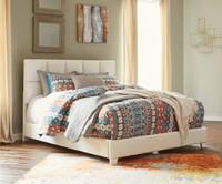 Monica Queen Bed White