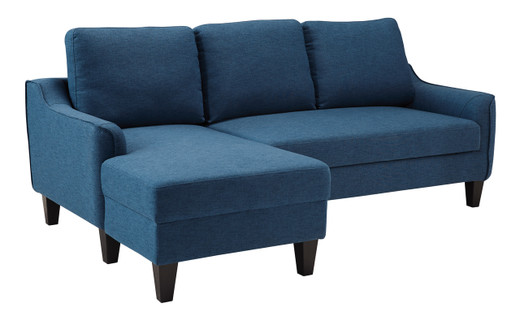 Tahoe LHF Sectional Sofa Bed Blue