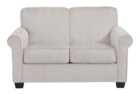 Orbit twin sofa bed with memory foam mattress