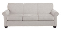 Orbit Double Sofa Bed Pebble