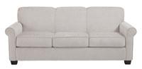 Orbit Double Sofa Bed Pebble
