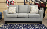 Morton Fabric Sofa Grey