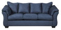 Madison Double Sofa Bed Blue