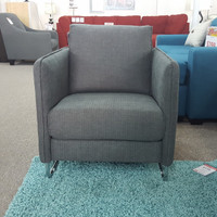 Tegan Fabric Chair Grey