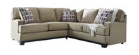 Kingston Fabric Corner Sectional Beige