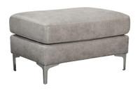 Elzie Ottoman Grey