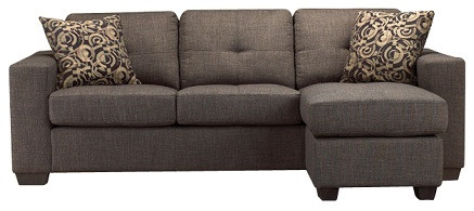 Lacey Fabric Sectional Sofa