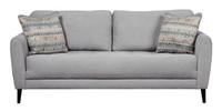 Perri Fabric Sofa Grey