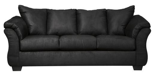 Madison Fabric Sofa Black