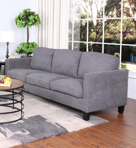 Juno Fabric Sofa Grey