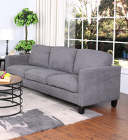 Juno Fabric Sofa Grey