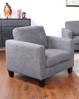 Juno Fabric Chair Grey