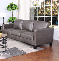 Juno Fabric Sofa Brown