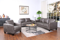 Juno Fabric Loveseat Brown