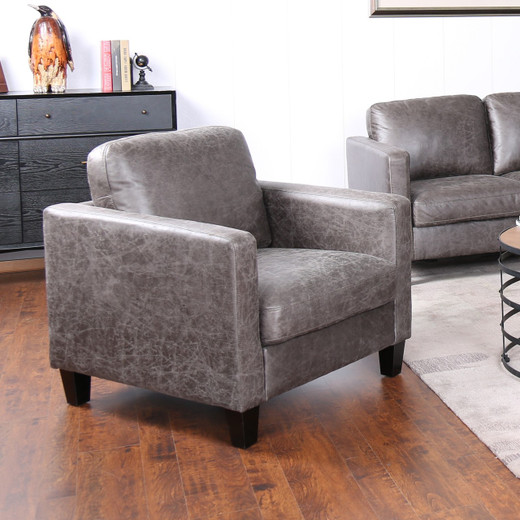 Juno Fabric Chair Brown
