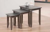 Quadra Nesting Tables Grey